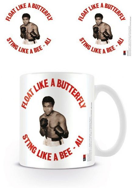 Muhammad Ali Float like a butterfly sting like a bee Retro Mug